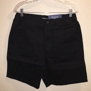 NWT Mens Croft & Barrow Elastic Cargo Shorts Sz 34